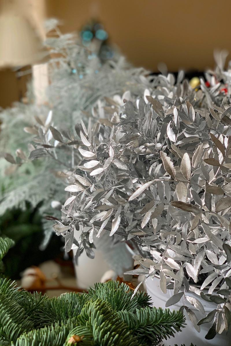 Taller de coronas de Navidad