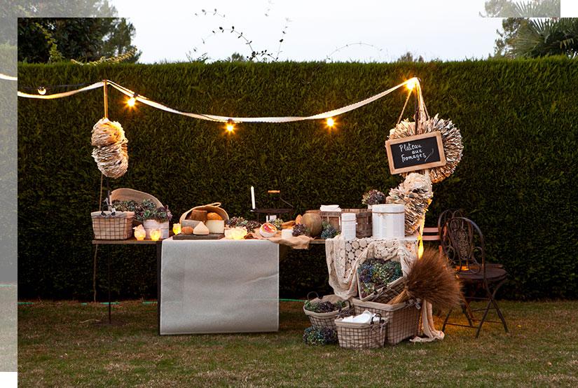 Tendencias decoración bodas 2017