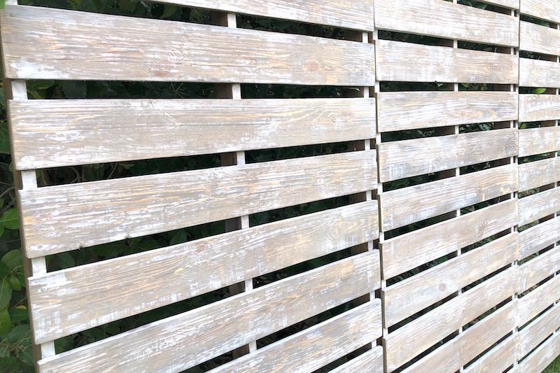 trasera de madera para photocall