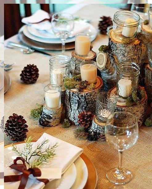 10 elementos para decorar bodas en otoño - tu decoración original