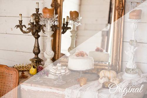elementos para decorar bodas en otoo