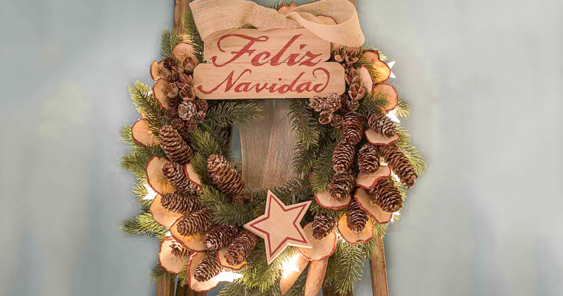 Tu decoración original de Navidad