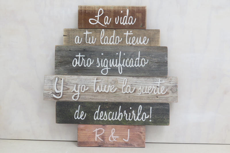 Tu Decoración Original Tablas con frase