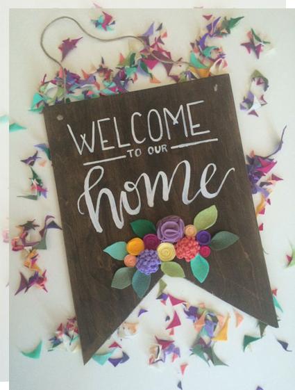 Carteles de bienvenida welcome