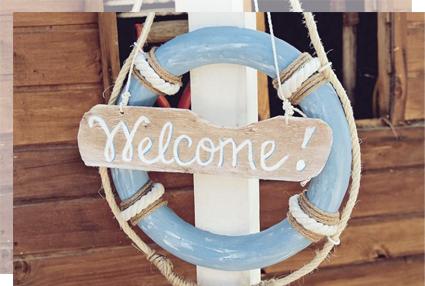 Carteles de bienvenida tu decoración original